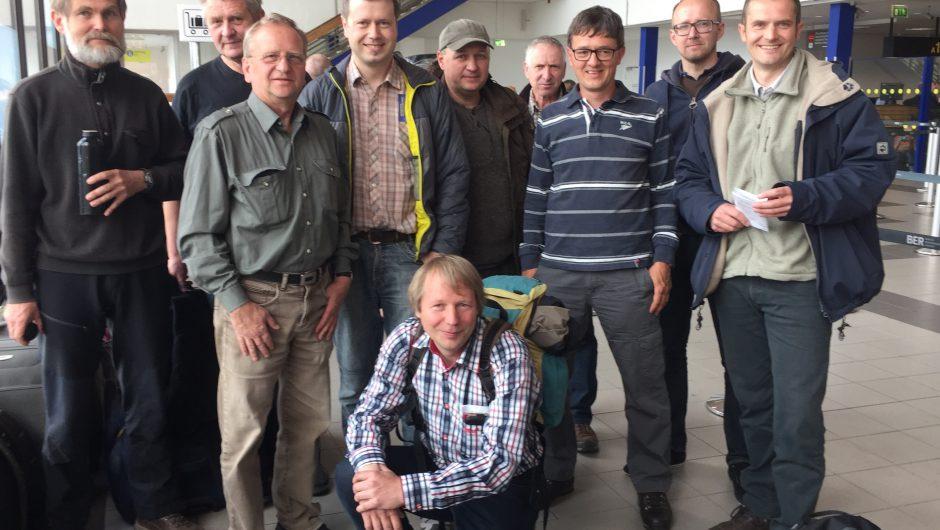 Abreise in die Pripjat-Sümpfe nach Weißrussland