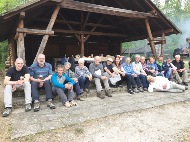 Bartmeise-Reisegruppe in der Oberlausitz unterwegs