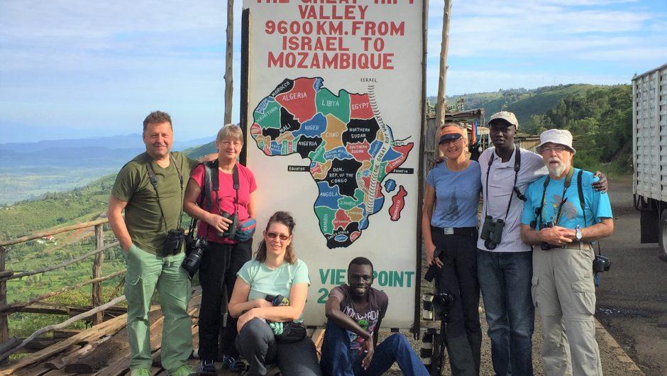 Bei den Naturwundern im Großen Afrikanischen Grabenbruch unterwegs