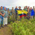 Bartmeise-Reisegruppe in den Mittleren Anden Kolumbiens unterwegs