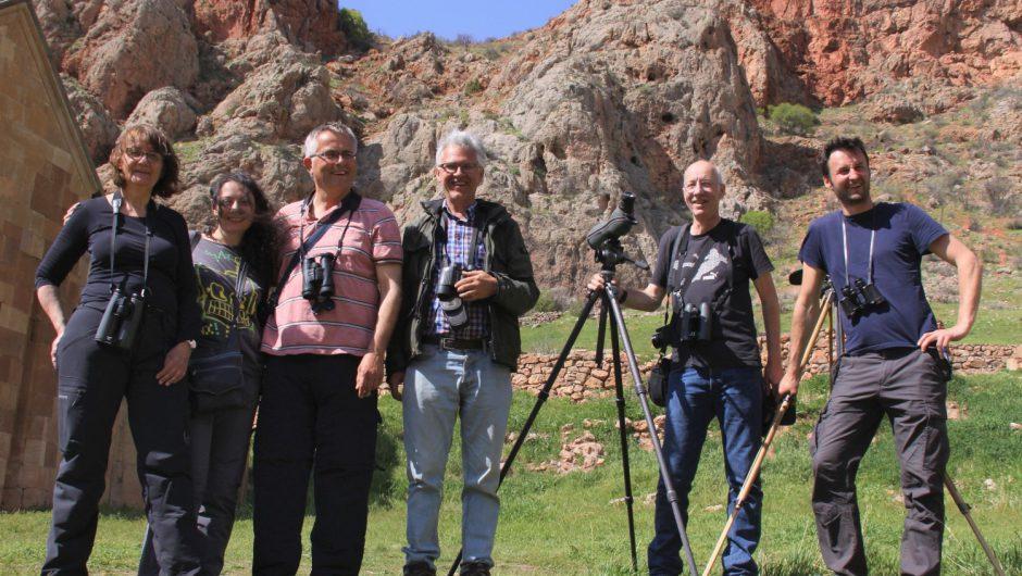 Zwischen Orient und Okzident: Unterwegs bei den Vögeln an der Grenze von Europa nach Asien