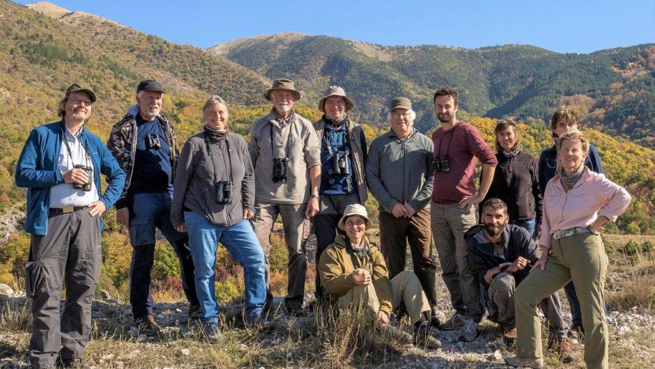 In Corona-Zeiten unterwegs: Von Krauskopfpelikanen und Steinsperlingen in Nordgriechenlands Naturparadies